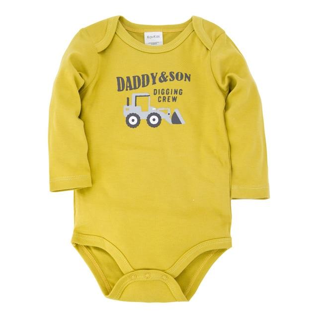 Honeyzone bebê menino macacão 100% algodão 2020 primavera verão novo azul corpo macacão para bebê recém-nascido todler manga longa ropa de bebe