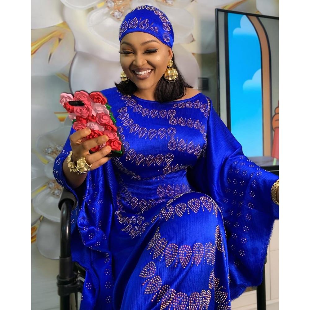 South African Bubu Dresses For Women Robe Africaine Vetement Femme 2019 African Head Wraps Headtie Dashiki Bazin Ankara Dresses