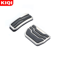 Pedals-Cover Ford Auto-Accessories Car-Gas-Brake Stainless-Steel KIQI New Mondeo-Edge