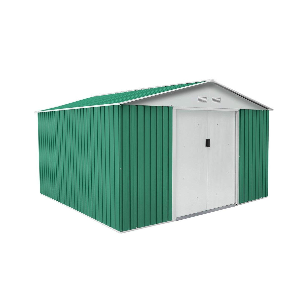 Gardiun Shed Garden Metal Coventry (Green) 9, 66 M² Ext-Kis12993