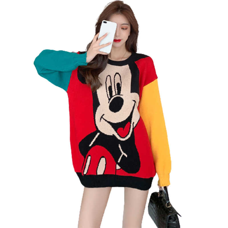 Disney Mickey Mouse Lips Falling Hoodie Novelty Pullover Men Women Unisex V290