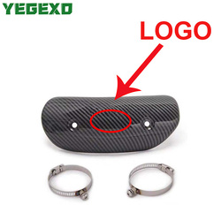 Muffler Heat Shield Protector Motorcycle Exhaust Accessories For ktm 790 yamaha xj6 honda cb 600 hornet honda silver wing