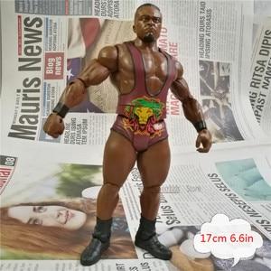 Image 3 - WWEE American wrestle mania models action figures original factory toys odorless  Hulk Hogan Big E Roman reigns undertaker