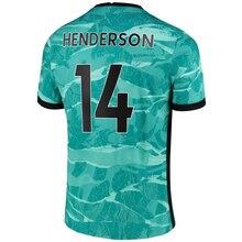 New Custom Jersey 20 21 HENDERSON 2021 Anfield Soccer Jerseys Maillot De Football Football Shirt  New England Football Jersey
