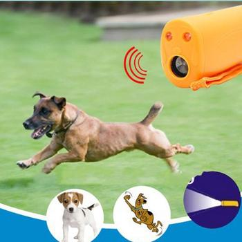 3 in 1 Control Dog Training Device Trainer Anti-Barking Pet Dog Repeller Anti Barking Stop Bark Trainer LED Ultrasonic products