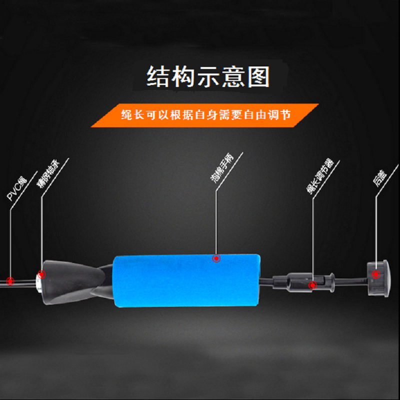 Fitness Jump Rope Profession Bearing Men And Women Adult Sports Equipment The Academic Test For The Junior High School Students