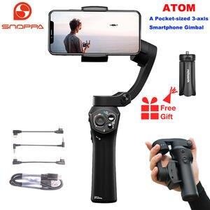 Snoppa Gimbal-Stabilizer Smartphone Gopro Foldable Handheld 3-Axis Q2 Pocket-Sized