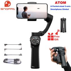 Snoppa Atom 3-Axis Opvouwbare Zakformaat Handheld Gimbal Stabilizer Voor Iphone Smartphone Gopro & Draadloze Opladen Pk glad Q2