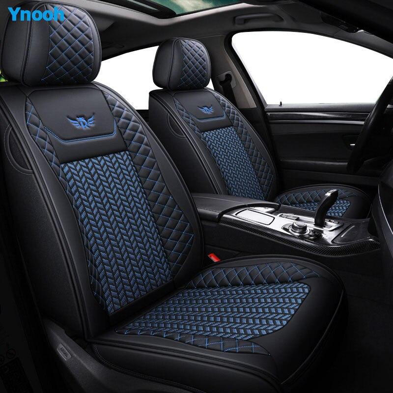 Housses de siège de voiture Ynooh pour mitsubishi pajero sport lancer asx 2011 outlander l200 colt protecteur de voiture