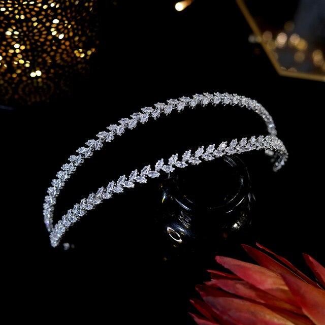 Asnora new cz soft headwear headba