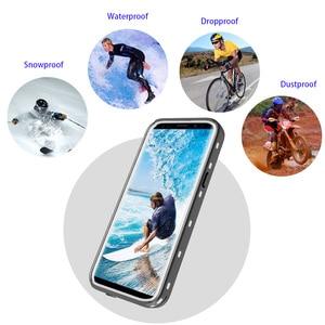 Image 4 - IP68 حافظة هاتف ضد الماء لهواتف سامسونج نوت 20 10 9 حافظة حماية 360 لهاتف جالاكسي S20 الترا S9 S10 بلس حافظة مضادة للماء
