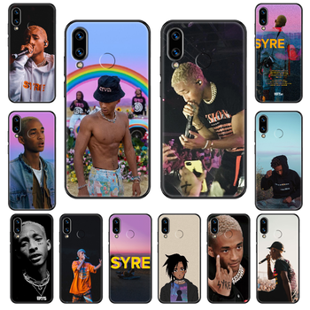 Jaden Smith Q1 Phone case For Huawei Honor Mate 5 7 8 9 10 20 i A X Lite Pro black painting Etui pretty funda soft prime luxury image