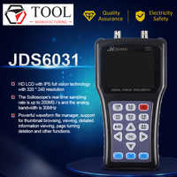 New Hand-held Oscilloscope Jinhan JDS6031 1CH 30M 200MSa/S with USB Charger Probe Cable Set Oscilloscope Lowest price Hot sale