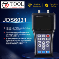 New Hand held Oscilloscope Jinhan JDS6031 1CH 30M 200MSa/S with USB Charger Probe Cable Set Oscilloscope Lowest price Hot sale