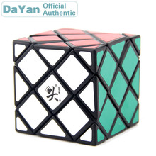Dayan 4 linha central 5 classificação distorcido 5x5x5 cubo mágico 5x5 skewbed neo velocidade profissional quebra cabeça antistress brinquedos educativos para o miúdo