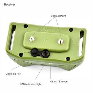 Image 3 - 犬の訓練リモート首輪充電式防水犬樹皮コントロールカラー電気訓練ショック首輪 800 範囲