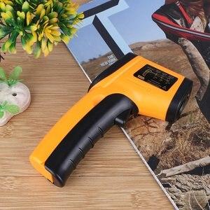 Инфракрасный Бесконтактный цифровой термометр GM320, супер-Большая распродажа, лоб, желтобелый инструмент, подходит для дома и фабрики, 6,18