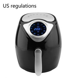 3.5L Capacity 1300W Smart Temperature Control Commercial Electric Air Fryer Digital Led Touch Screen For Air Fried Pot Drop Ship