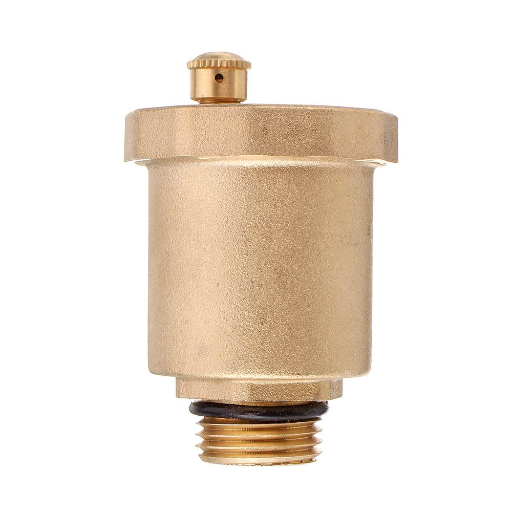"""G1//2/"""" Male Thread Brass Automatic Diaphragm One Way Air Vent Exhaust Valve"""