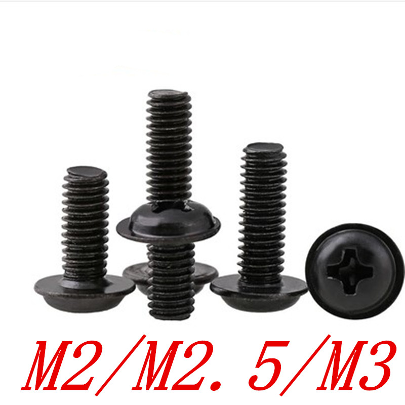 M4M5M6 Allen Hex Socket Cap Head Self Tapping Screws Grade 5 Carbon Steel Black
