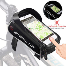 Bicycle bag cycling accessories waterproof touch screen frame