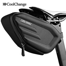 CoolChange Bicycle Saddle Bag Waterproof MTB Bike Rear Bag Reflective Cycling Rear Seat Tail Large Bag Bike Accessories(China)