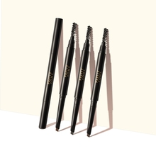 Pretty Comy Double-end Eyebrow Pen Waterproof Smudge-proof Easy To Use Eyebrow Pencil With Eyebrow Brush stylish leopard pattern double end waterproof smudge proof eyebrow pencil with brush