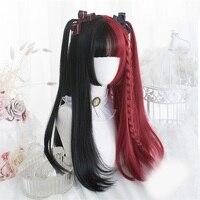 Синтетический косплей парик