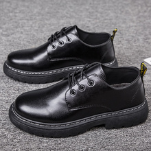 Spring Mens Shoes Casual Men's Leather