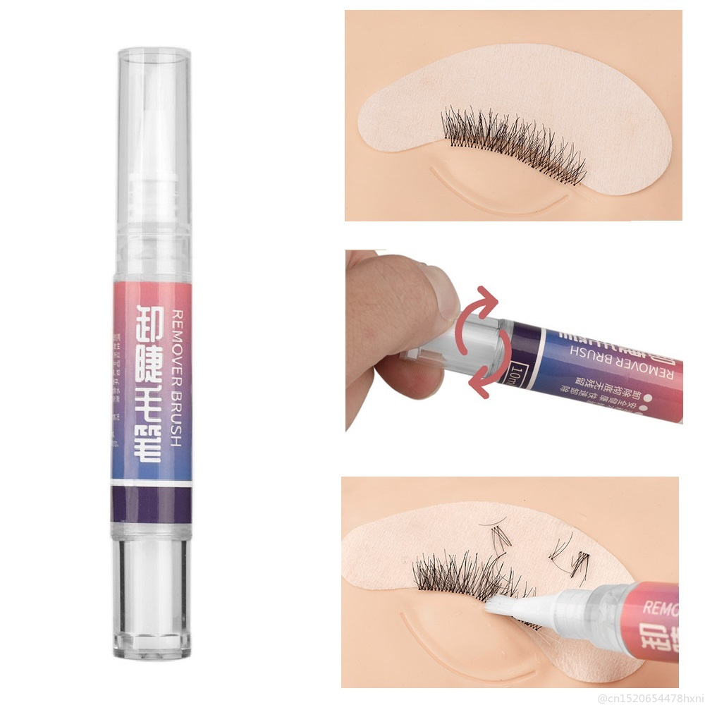 2019 NEW Liquid Eyelash Glue Remover Pen For For Eyelash Extension Glue Adhesive False Eyelash Cream Makeup Remover TSLM2