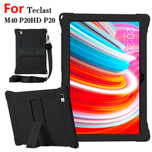 "Protective Case For Teclast M40 P20HD 10.1""Tablet PC Silicone Cover Case For Teclast P20HD M40 P20"