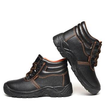 Männer Sicherheit Schuhe Schutzhülle Schuhe mal anti-slip Arbeit Sneaker Schuhe # JA9F37