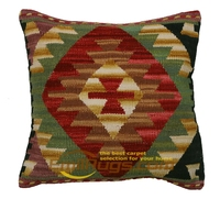 luxury pillow covers Kilim Wool Handmade Hand Woven Wool Fancy Couch Throw Interior Decoration