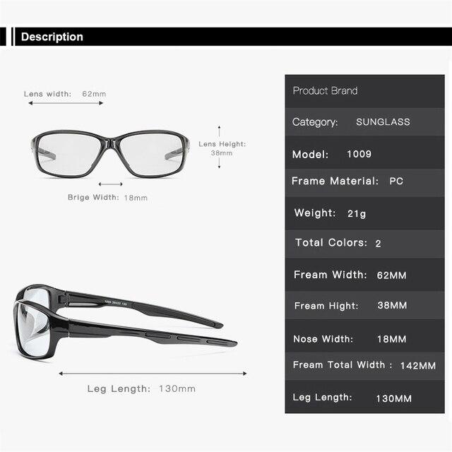 Homem ciclismo óculos photochromic ciclismo óculos polarizando 2020 bicicleta óculos de ciclismo gafas ciclismo 5