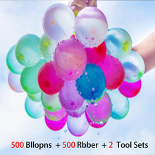 500Pcs Water Balloons Supplementary Package Toys Magic Summer Beach Party Outdoor Filling Water Balloon Bombs Toy for Kid Adult