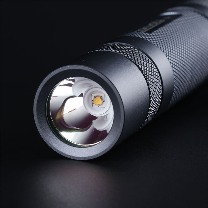 Gray Convoy S2+ SST20 LED Flashlight 18650 Flashlight Camping Light Hunting Emergency Lantern For Hunting Torch Portable Lamp