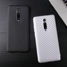 Для Xiao mi Red mi K20 Pro чехол противоударный из углеродного волокна Мягкий ТПУ чехол для Xiaomi mi 9 T/mi 9T Pro бампер матовый чехол