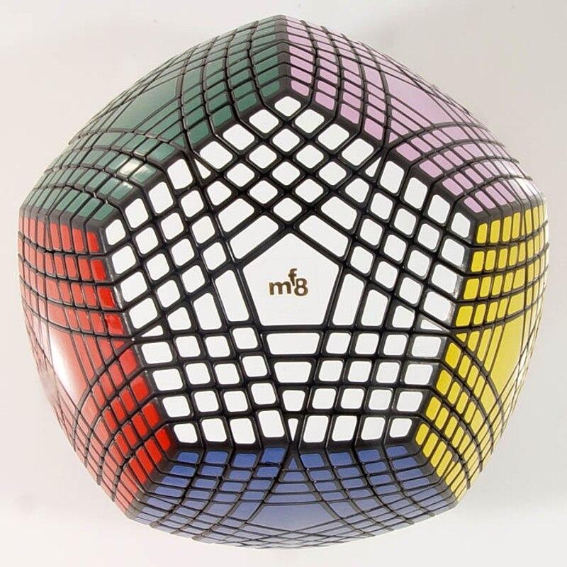 Collection MF8 Petaminx puzzle de Cube magique collée recueilli dodécaèdre 9x9 vitesse puzzle magique collection megaminxsed cube - 2