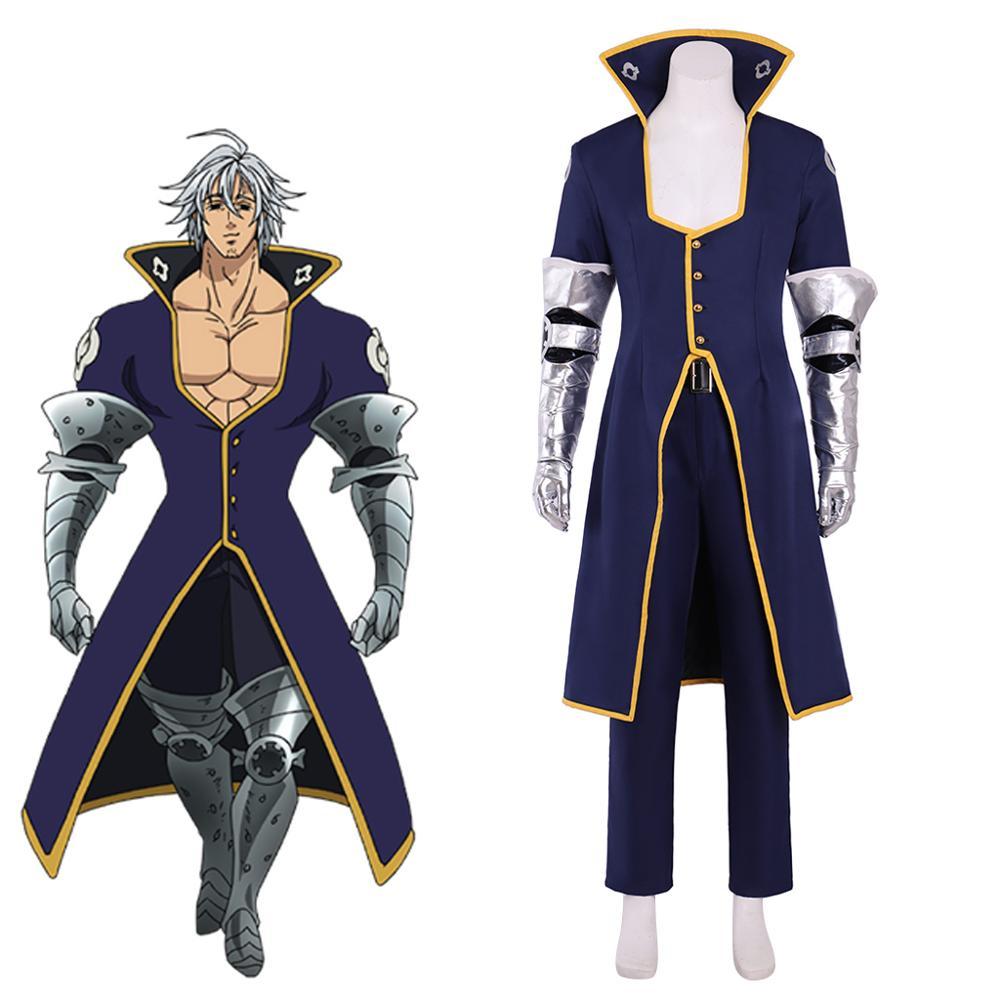 The Seven Deadly Sins Ten Commandments Zeldris Halloween Cosplay Costume Outfit