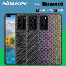 Funda Case For Huawei P40 p40 Pro Cover NILLKIN Twinkle Case Polyester Reflective Phone Back Cover Bag For Huawei P40 Pro Cases
