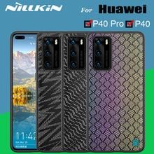 Чехол для Huawei P40 p40 Pro, чехол NILLKIN Twinkle из полиэстера, светоотражающая задняя крышка для телефона, сумка для Huawei P40 Pro, чехлы