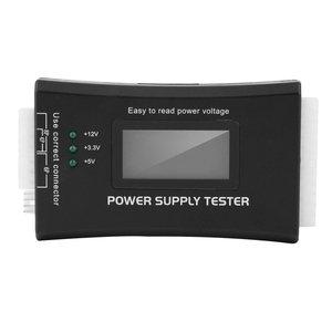 2018 Новинка 1 шт., пользуются большим спросом; Компьютер PC Питание тестер Контролер 20/24 pin жесткого диска SATA HDD ATX BTX метр ЖК-дисплей дропшиппинг
