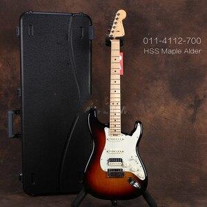 Высококачественная FDST-1104, 3 цвета, твердая ольха, белая накладка, клен, frtboard, Элитная электрогитара, бесплатная доставка