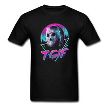 TGIF Friday T Shirt The 13Th Movie Horror Cotton Shirts Male Pre-Cotton Short Sleeve Tee Home Wear Mens Hip Hop Tees