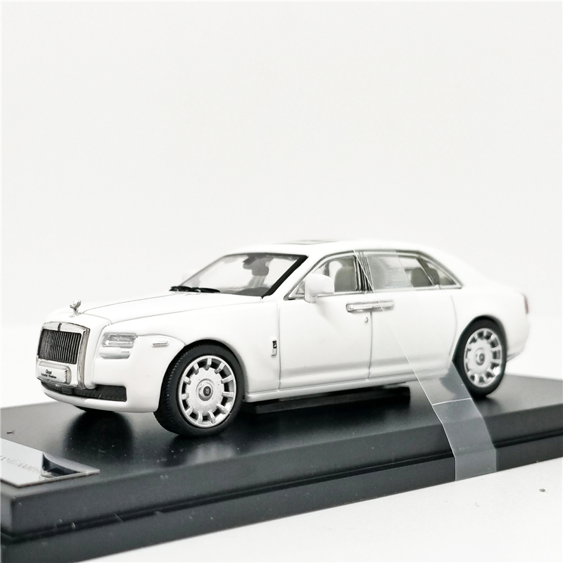 1:64 Rolls Royce Ghost Extended Wheelbase White Diecast Model Car