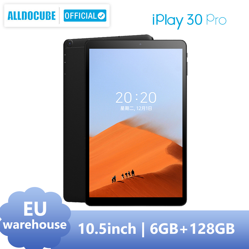 ALLDOCUBE iPlay30 Pro 10.5 inch Tablet android 10 Octa Core 6GB RAM 128GB ROM Dual Sim Cards Phone Calling Tablet PC 1920*1200 1