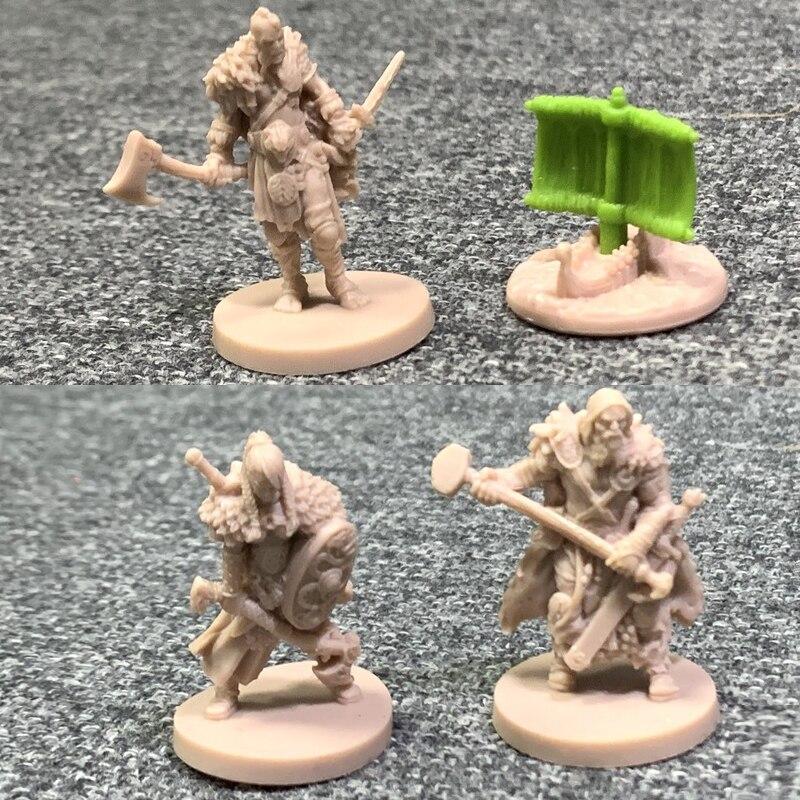 Lot 8Pcs 28mm GOLD D/&D Dungeons /& Dragon Marvelous Miniatures War Game Figures