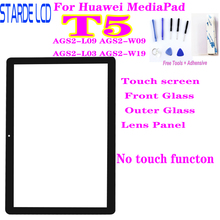New For Huawei MediaPad T5 Touch Screen Front Glass Outer Glass Lens Panel Replacement AGS2-W09HN L09 AGS2-W09 AGS2-L03 AGS2-W19