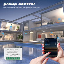 16A MINI Wifi Smart Switch Tuya Timer Wireless Switches Smart Life Automation Compatible With Alexa Google Home Tmall Wizard