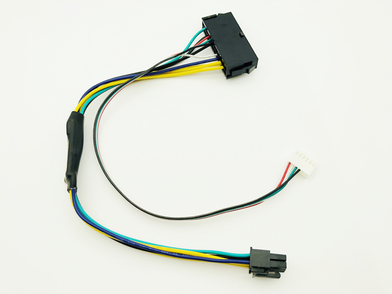 Блок питания atx 24pin к материнской плате 2 портов 6pin адаптер